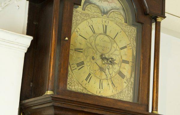Longcase Brass Dial Clock (Halifax)