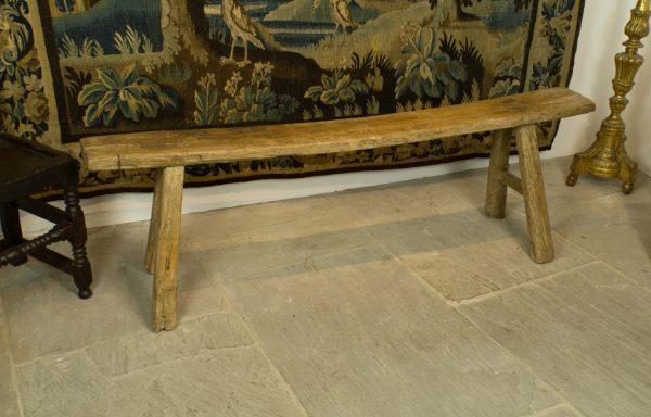 Period Oak Bench