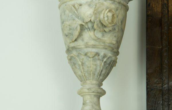 Italian Carrera Vases/Urns