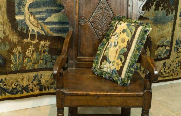 17th Century Period Oak Wainscot Chair