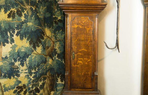John Boot Oak Longcase Clock