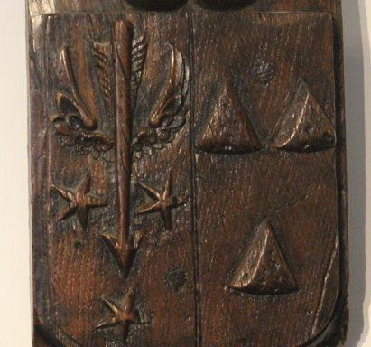 17th Century Period Oak Armorial