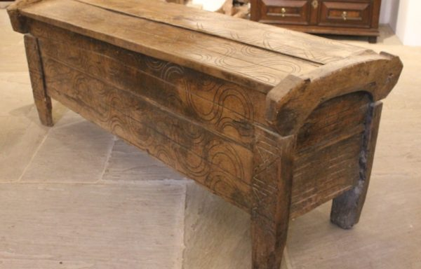 Late 16th Century Period Oak Ark