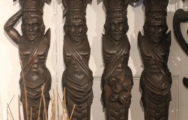 Fabulous Rare Period Oak 16th Century Atlantians