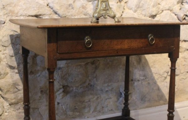 17th Century Period Oak Side Table