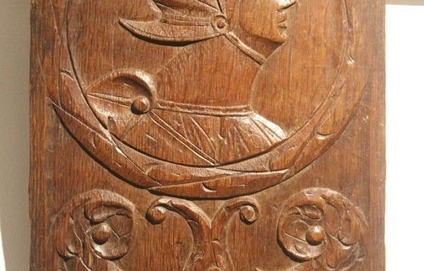 Period Oak Romayne Panel