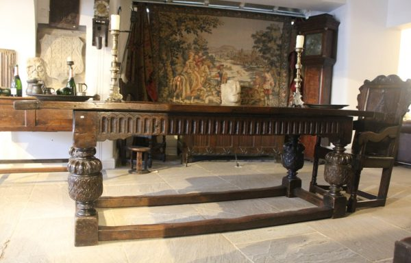 Period Oak Elizabethan Refectory Table