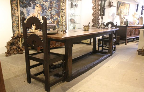 16th Century Period Oak Refectory Table
