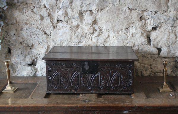 Period Oak Document Box