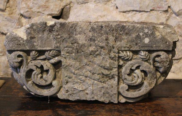 Superb 15th Century Stone Capital