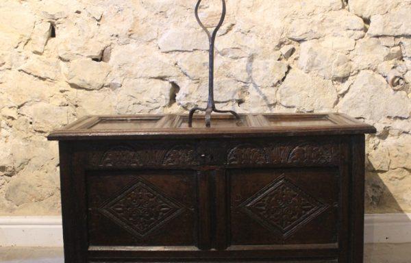 17th Century Period Oak Coffer